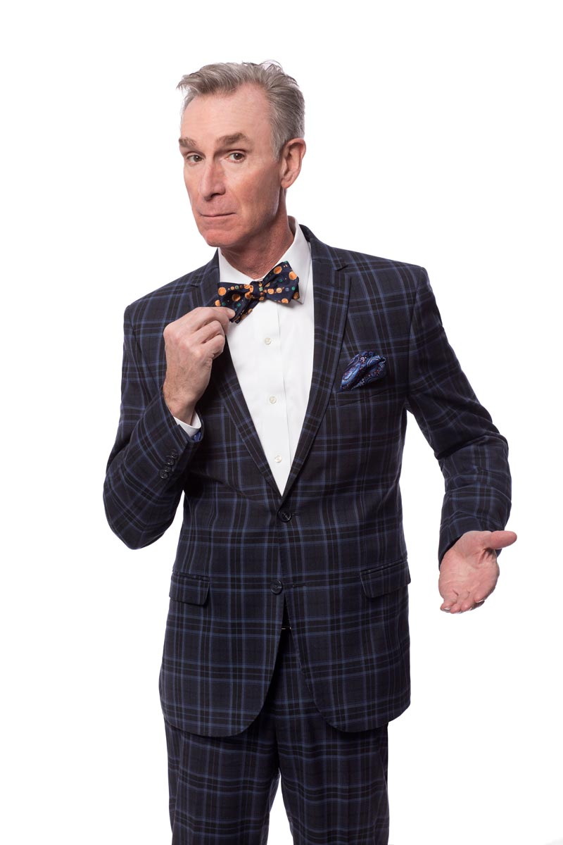 Bill Nye with bowtie