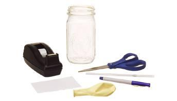 scissors ballon tape marker